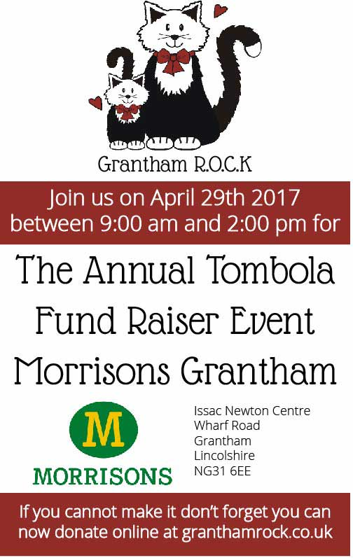 Grantham ROCK fund raising event 2017
