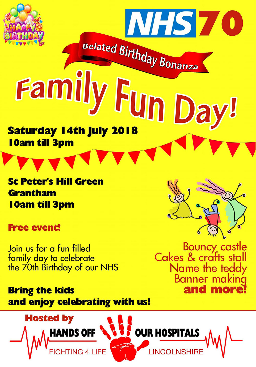 Fighting 4 Life Family Fun Day NHS 70th