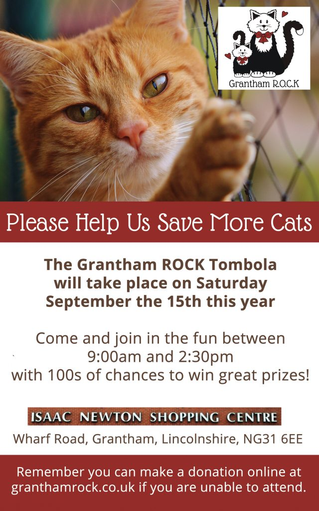 Grantham ROCK Tombola